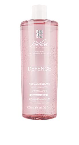 BioNike DEFENCE Detersione Acqua Micellare Viso Occhi Labbra, 500 ml