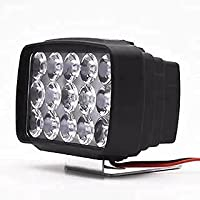 Compatibility: Universal fit, Compatible with all cars Modes & Working: Throws bright WHITE LIGHT on the spot & Operates in 3 different modes ? Low Beam, High Beam and Flasher/ Strobe. Designed to work with standard battery Material: The solid Alumin...