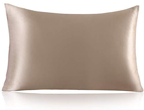 ZIMASILK 100% Mulberry Silk Pillowcase for Hair and...