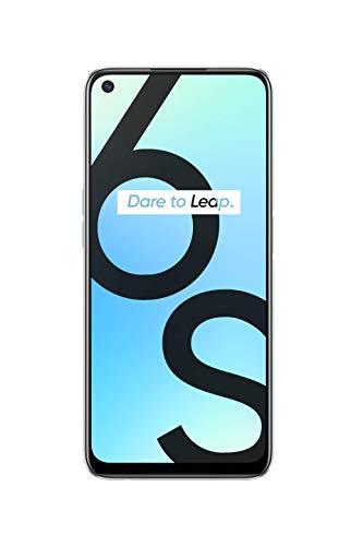 realme 6S Blanc Smartphone Débloqué 4G+ - (Ecran : 6,5 Pouces – 4 Go RAM – 64 Go ROM - Double Nano SIM - Android) [Version Française]
