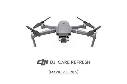 DJI  Mavic 2 Series Care Refresh  Assicurazione Completa per Drone Mavic 2  Copre da Danni, Cadute e Acqua  Fino a 2 Sostituzioni  Valida 12 Mesi e Attivabile Entro 48 Ore