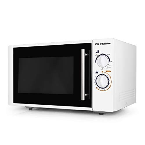 Orbegozo MIG2520 Microondas, 25 litros de capacidad, 5 niveles de potencia + grill + 3 funciones combi, 900 W, Blanco