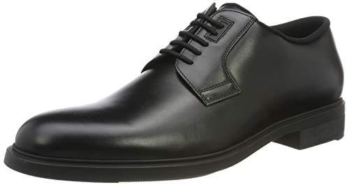 BOSS Firstclass_derb_pl, Zapatos de Cordones Derby Hombre, Negro (Black 001), 46 EU