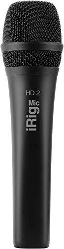 IK Multimedia iRig Mic HD 2 high-definition handheld digital microphone