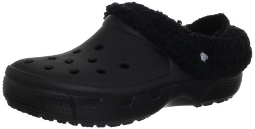 Crocs Mammoth Core Full Collar 12878, Zuecos unisex, Negro (Black/Black), 42-43
