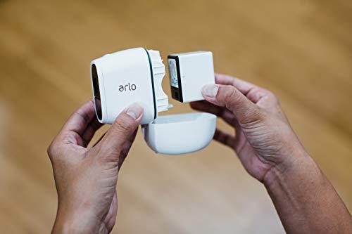 31XxTt-JaCL Bon plan Arlo Pro 2 | Caméra de Surveillance WiFi sans Fils - Pack de 3, Batteries Rechargeables & Accessoire Arlo Bras de F...