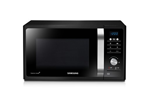 Samsung MG23F301TAK/EC Microondas con Grill, 23 Litros de Capacidad, Potencia 800W/1100 W, Interior Cerámico...