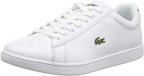 Lacoste Sport Carnaby EVO BL 1 SPW, Zapatillas para Mujer, Blanco (Wht), 38 EU