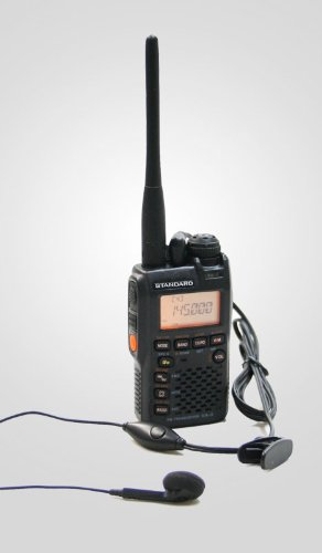 スタンダード VX-3 144/430トランシーバー+HD-1Lオリジナルイヤホンマイク