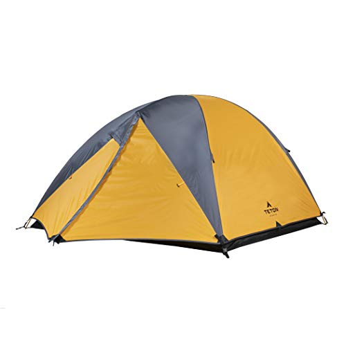 TETON Sports Mountain Ultra Tent; 3 Person Backpacking Tent...