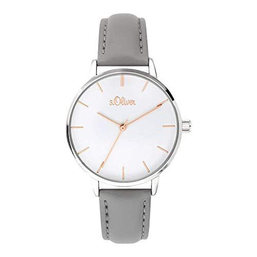 s.Oliver Damen-Armbanduhr Analog Quarz SO-3645-LQ