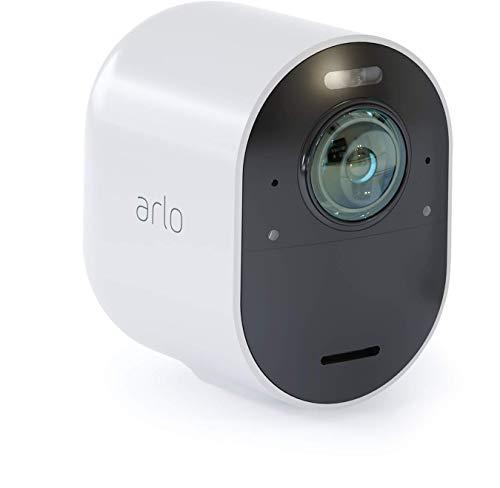 31YPwSzG-sL [Bon plan Arlo !  Arlo Ultra   4K HDR Caméra Additionnelle avec éclairage Intégré, Rechargeable, sans Fils, Audio Bi-Directionel, Éta...