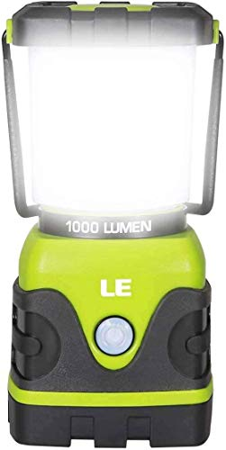 LE LED Camping Lantern, Battery Powered LED with 1000LM, 4...
