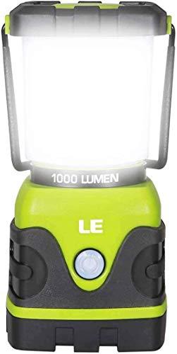 LE Linterna de Camping, Farol de Camping Regulable 1000 Lumen, 4 Modos...