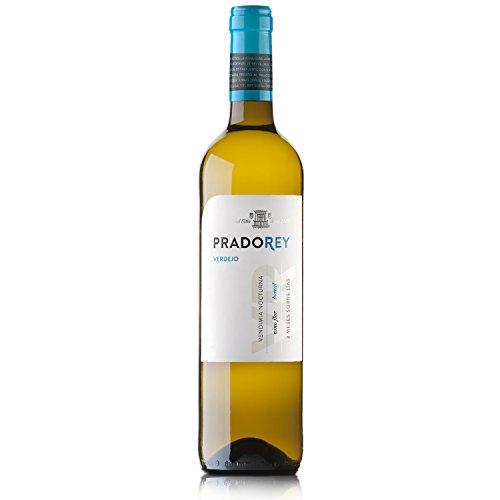 PRADOREY Verdejo - Vino bianco - Verdejo - Vino spagnolo - Vino della terra di Castiglia e Len - Vendemmia notturna - Vinificazione con sistema Boreal - 1 bottiglia - 0,75 l