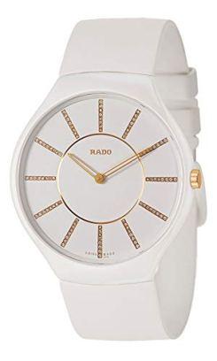 Rado True Thinline Quartz Movement White Dial Ladies Watch R27957709