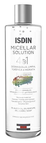 ISDIN Micellar Solution 4 en 1 Agua Micelar, Limpia, Desmaqu