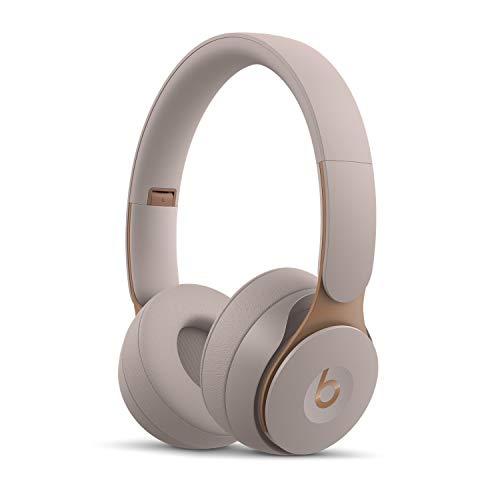 Beats Solo Pro Wireless Cuffie con cancellazione del rumore  Chip per cuffie Apple H1, Bluetooth di Classe 1, cancellazione attiva del rumore, modalit Trasparenza, 22 ore di ascolto  Grigio