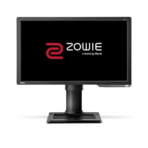"BenQ ZOWIE XL2411P e-Sports Gaming Monitor con 1 ms, 24"", 144 Hz, Regolabile in Altezza, Nero eQualizer, 1920 x 1080 Pixel FHD, DVI-DL/HDMIx1/DP1.2, Dark Grey"
