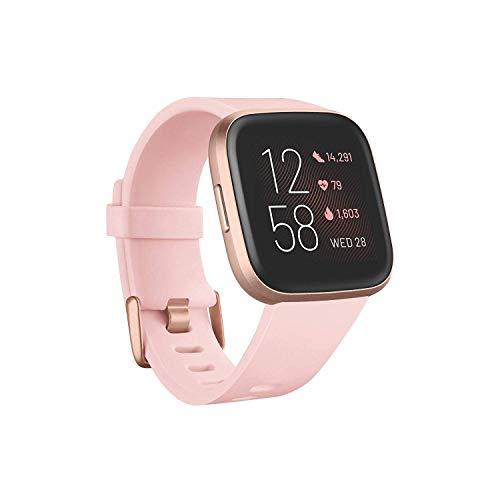 Fitbit Versa 2 - Smartwatch de salud y forma física, Rosa...