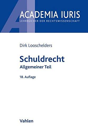 Schuldrecht Allgemeiner Teil (Academia Iuris)