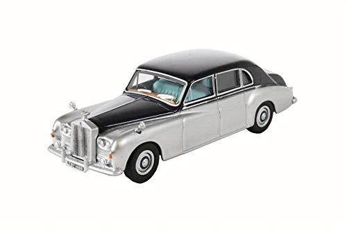 Oxford Diecast 76RRP5001 Rolls Royce Phantom V Navy/Silver