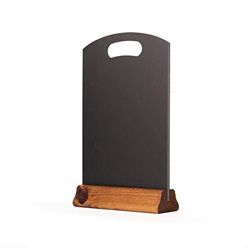 Chalkboards UK - Lavagna da Tavolo Formato A4 con Impugnatura Superiore e Basamento (A:297mm x...