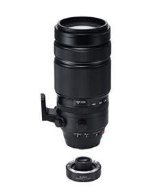 Fujifilm XF 100-400 mm Kit de objetivo con teleconvertidor 1,4x, TC WR