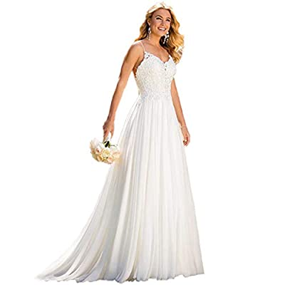 1,Main Fabric luxurious lace Softest Silk Chiffon;Boho-inspired Beach Wedding Dress;With Drape. 2,Please Kindly Check the US Size Then Place The Order.Size US 2 - US 20W And Custom Size Available, 3,Occasion For Wedding Party, Evening Dress,Prom Dres...