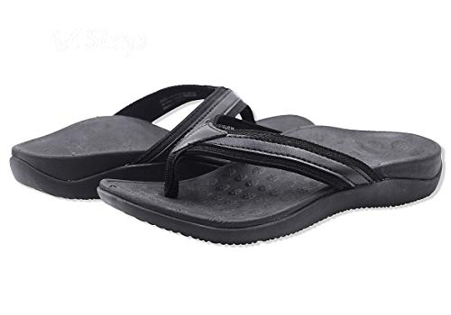 V.Step Orthotic Flip Flops Arch Support Sandals Flat Thong...