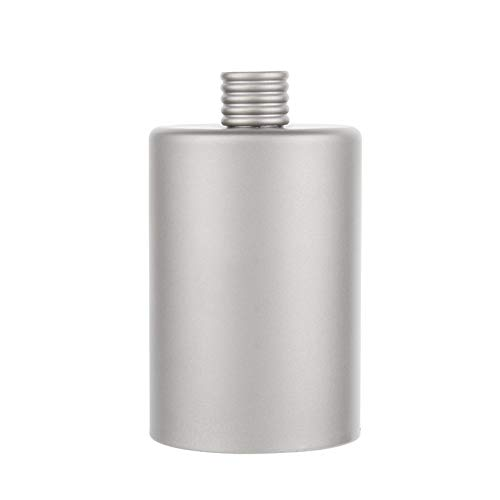 Titanium Outdoor Hip Flask Ultralight Camping Sport bottiglia di acqua degli accessori del vino...