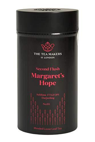 The Tea Makers of London Darjeeling Margarets Hope FTGFOP1 Second Flush schwarzer Tee vom Teekontor, 1er Pack (1 x 125 g)