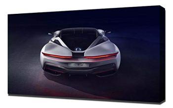 Lilarama (compatible with 2020-Pininfarina-Battista-V5- Canvas Art Print - Wall Art - Canvas Wrap - Wall Decor