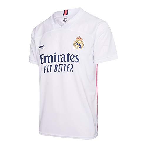Camiseta Oficial del Real Madrid para Hombre, 2020/2021, Man