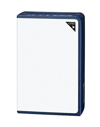コロナ 衣類乾燥除湿機 除湿量10L(木造11畳・鉄筋23畳まで) エレガントブルー CD-H10A(AE)