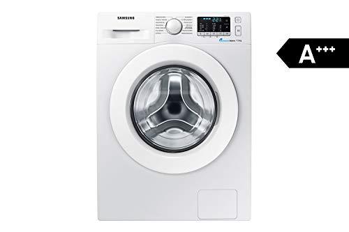 Samsung WW70J5585MW/EG Waschmaschine Frontlader / 7kg / Automatikprogramme / SchaumAktiv-Technologie / FleckenIntensiv / 85 cm Höhe / Aquastop