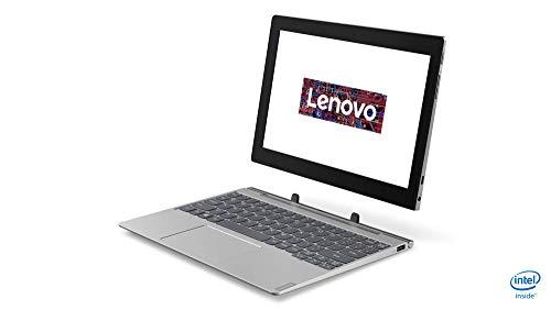 Lenovo IdeaPad D330 25,4 cm (10,1 Zoll, 1280x800, HD, IPS, Touch) 2-in-1 Tablet (Intel Celeron N4000, 4GB RAM, 64GB eMMC, Intel UHD-Grafik 600, Wi-Fi, Windows 10 Home S) grau inkl. Lenovo Active Pen