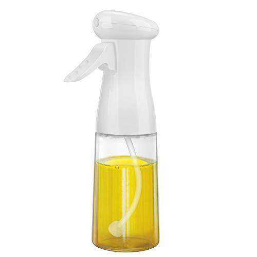 Pulverizador Aceite, Spray Aceite Rociador Oliva Aceite 210 ML para Cocinar,Ensalada,Barbacoa, Asar, Hornear,Pan,BBQ