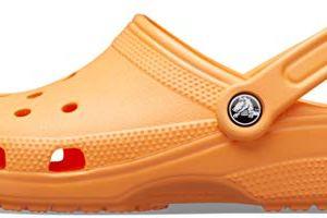 Crocs Classic Clog | Comfortable Slip on Casual Water Shoe, cantaloupe, 8 US Women / 6 US Men M US