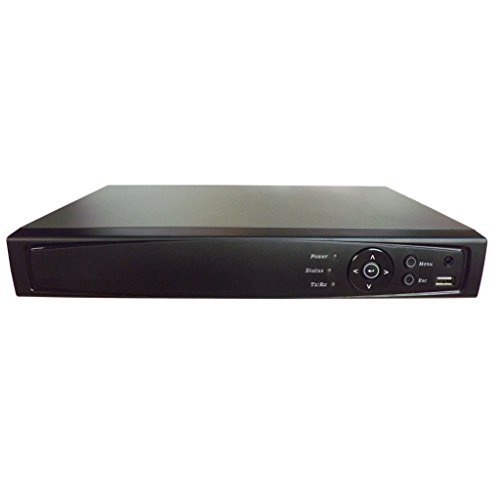 101AV 16CH Surveillance 1080P Full HD 2in1 DVR/NVR, HD-TVI/AHD/CVBS/IP, 2TB HDD, HDMI/VGA/BNC Video Out, Cell Phone APPs for Home & Office, Work w/ Both Analog and Network/IP Cam up to 4MP (no PoE)