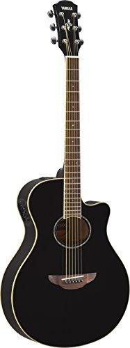 Yamaha APX600BL Cuerpo Delgado Guitarra Acoustic-Electric, Thin Body, color Negro