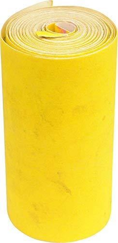 Profi Schleifpapier Set 6 stuck von 5 meter: P40, P80, P100, P150, P180, P320 Schleifpapier für Auto, Holzmöbel, Stein, Lack, Metall, Glasr