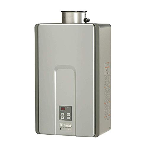 Rinnai RL94iN HE+ Tankless Hot Water Heater, Natural Gas/9.4 GPM, Indoor Installation