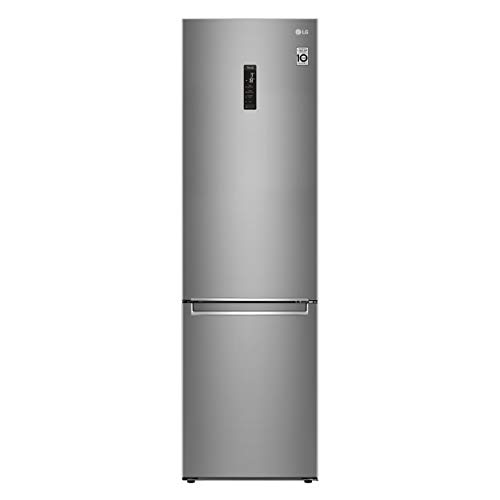 LG GBB72SAUCN Frigorifero Smart Combinato Total No Frost con Congelatore, 384 L, Classe C, 35 dB, Linear e Door Cooling, Fresh Balancer e Converter - Frigo con Freezer, Metal Fresh, Wi-Fi, Display LED