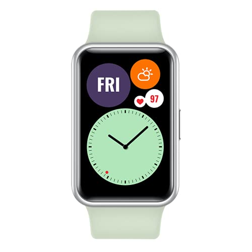 """HUAWEI Watch FIT - Smartwatch con Cuerpo de Metal, Pantalla AMOLED de 1,64"""", hasta 10..."""