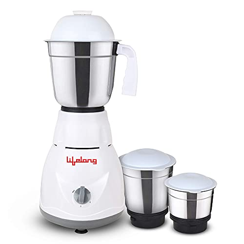 3 jars liquidizing jar (1.25 liters), dry or wet grinding jar (0.8 liters), chutney jar (0.5 liters) Operating Voltage: 220 - 240 volts, Frequency: 50Hz 1Phase 1 Year Warranty The mixer has three blades at the bottom that grinds all your ingredients ...