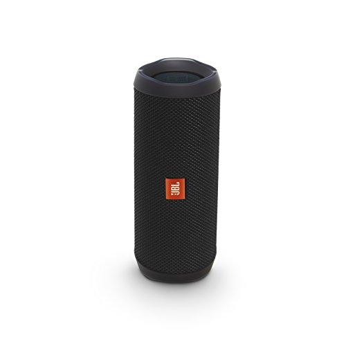 JBL FLIP4 Bluetoothスピーカー IPX7防水/パッシブラジエーター搭載/ポータブル ブラック JBLFLIP4BLK 【国内正規品】