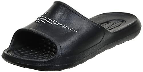 Nike Victori One Shower Slide, Sandal Mujer, Black/White-Black, 40.5 EU