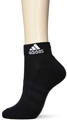 adidas Cush Ank 3pp, Socks Uomo, Black/Black/Black, L