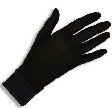 JASMINE SILK Seide Handschuhe Silk Glove Innenhandschuh Unterziehhandschuh (Medium)